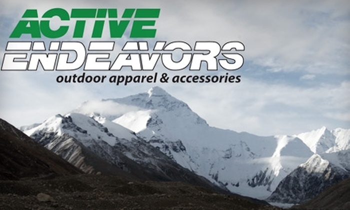Active Endeavors - Longfellow: $20 for $40 Worth of Premium Casual and Outdoor Apparel at Active Endeavors