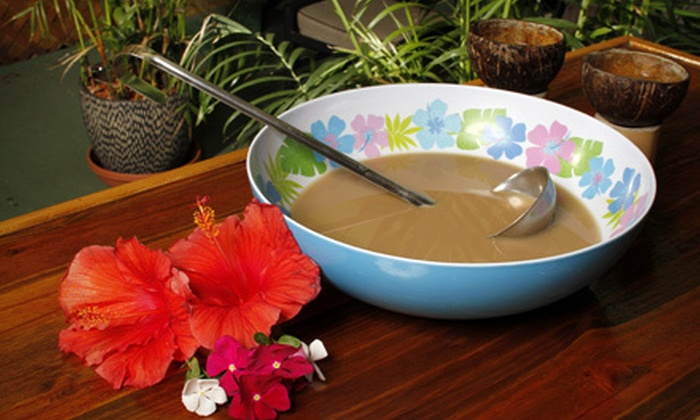 Bula Kafe - Historic Kenwood: $10 for $20 Worth of Traditional South-Pacific Kava Drinks at Bula Kafe