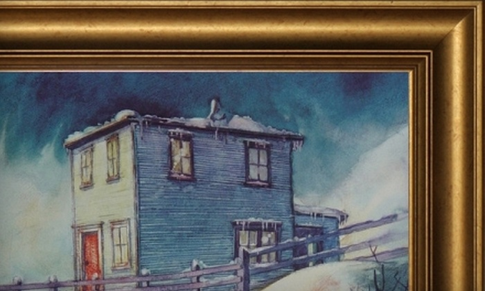 G. Hancock Framing and Art Gallery - Kenmount/Thorburn: $49 for $100 Worth of Custom Framing and Art at G. Hancock Framing and Art Gallery
