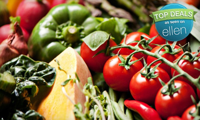 Suncoast Organics: $26 for a Custom Organic-Produce Package with Sarasota-Area Delivery Included from SunCoast Organics ($52.99 Value)