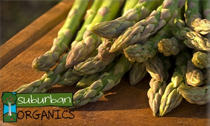 Suburban Organics: $19 for a Small Box of Organic Produce Delivered from Suburban Organics