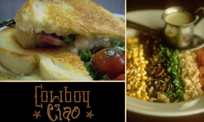 Cowboy Ciao - Downtown Scottsdale: $15 for $30 Worth of Sunday Brunch Fare at Cowboy Ciao
