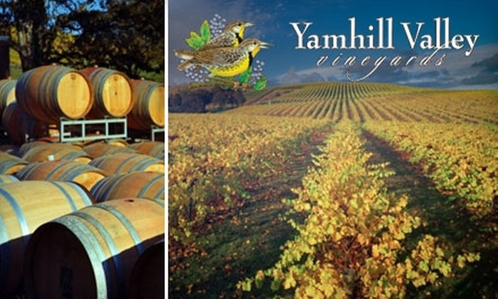 Yamhill Valley Vineyards - Sheridan: $12 for a Wine Tasting and $20 Worth of Wine at Yamhill Valley Vineyards ($25 Value)