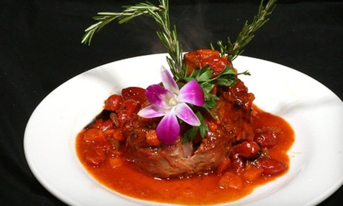 Casanova Restaurant & Lounge - Clearwater: $20 for $40 Worth of Upscale Italian Dinner or $10 for $20 Worth of Lunch at Casanova Restaurant & Lounge in Clearwater
