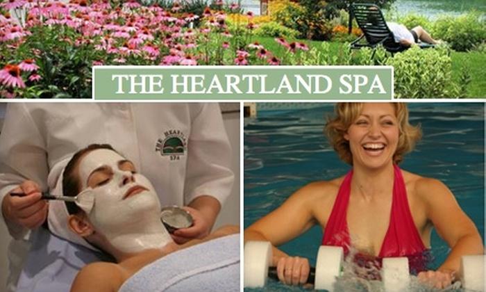 Heartland Spa - Onarga: $199 for a 24-Hour Stress-Buster Retreat at Heartland Spa in Gilman ($399 Value)