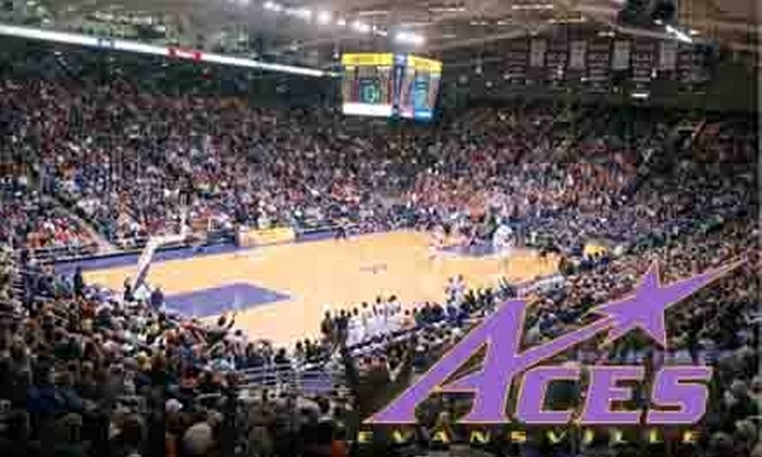 University of Evansville - Evansville: $18 for Two Preferred Seats at a University of Evansville Men's Basketball Game ($36 Value). Choose Between Two Dates.