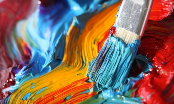 Canvas and Conversation - Business 41: $15 for an Evening Adult Art Class at Canvas & Conversation ($30 Value)