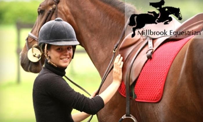 Millbrook Equestrian - Sedalia: $30 for One Riding Lesson at Millbrook Equestrian