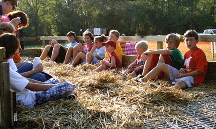 Shuckle's Corn Maze - Gallatin: $6 for a Corn Maze and a Hayride Adventure at Shuckle's Corn Maze in Hendersonville-Gallatin (Up to $12 Value)