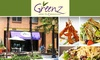 Greenz - Multiple Locations: $10 for $25 of Creative Salads, Sandwiches, Soups, and Nonalcoholic Drinks at Greenz