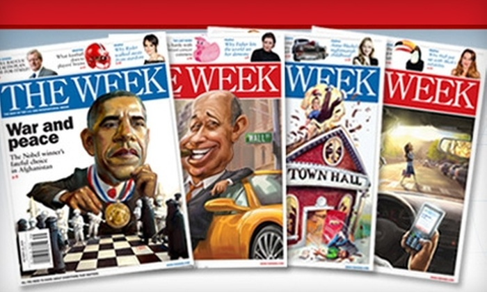 """The Week Magazine - New York City: $25 for 50 Issues ($49.50 Value) or $40 for 80 Issues ($79.20 Value) of """"The Week"""" Magazine"""