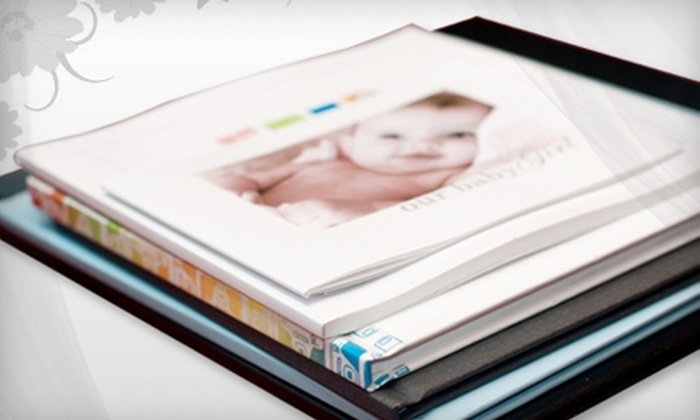 """MyPicTales: $15 for 12""""x12"""" Custom Hardcover Photo Book ($49.99 Value) or $8 for Custom Calendar ($25.99 Value) from MyPicTales"""
