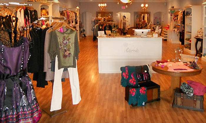 Esme - Hampton Roads: $25 for $60 Worth of Apparel and Accessories at Esme in Virginia Beach