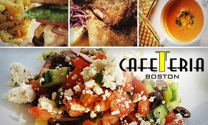 Cafeteria Boston - Back Bay: $20 for $40 of Comfort Cuisine and More at Cafeteria Boston