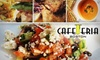 Cafeteria - Back Bay: $20 for $40 of Comfort Cuisine and More at Cafeteria Boston