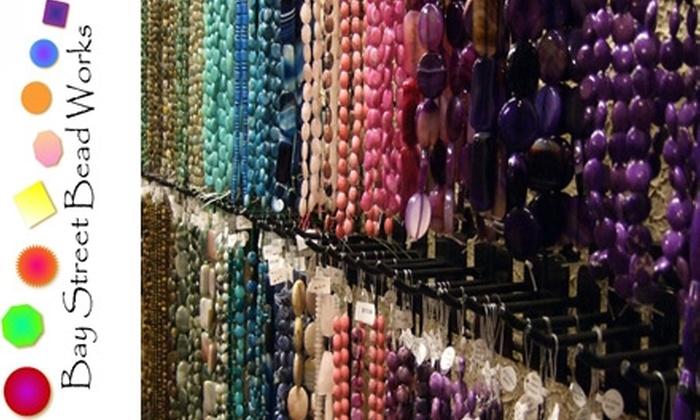 Bay Street Bead Works - Glens Falls: $29 for $60 Worth of Beads and More at Bay Street Bead Works in Glens Falls