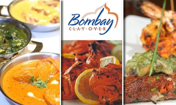 Bombay Clay Oven - Cherry Creek: $25 for $50 Worth of Indian Cuisine at Bombay Clay Oven