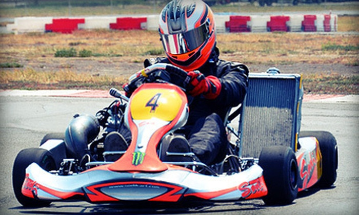 Dallas Karting Complex - Caddo Mills: One 10-Minute Adult Go-Kart Race at Dallas Karting Complex in Caddo Mills (Up to Half Off). Three Options Available.