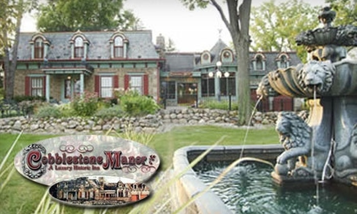 Cobblestone Manor Luxury Bed and Breakfast - Auburn Hills: $92 for a One-Night Stay at Cobblestone Manor Luxury Bed and Breakfast (a $179 Value)