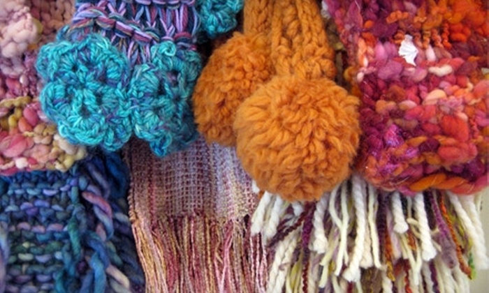 The Shabby Sheep - Uptown: $10 for One Quick Start Knit or Quick Start Crochet Class at The Shabby Sheep ($25 Value)