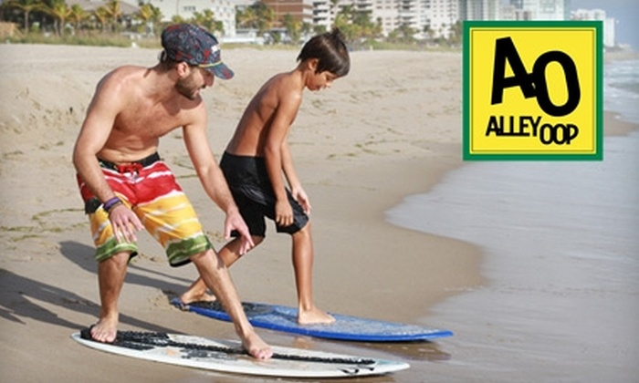 Alley-Oop - East Fort Lauderdale: $35 for a One-Hour Skimboard Lesson at Alley-Oop in Lauderdale-By-The-Sea ($75 value)
