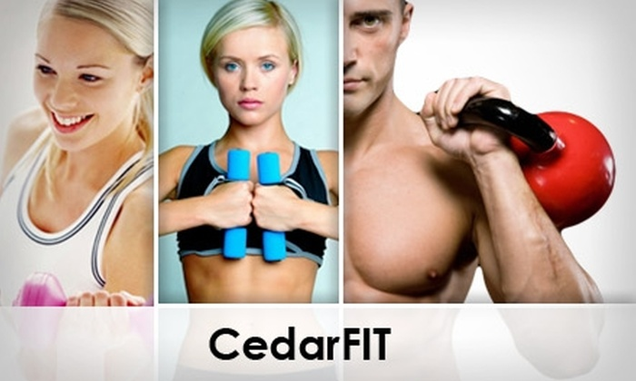 CedarFIT - Loop Industrial District: $29 for One Month of Unlimited Boot Camp at CedarFIT