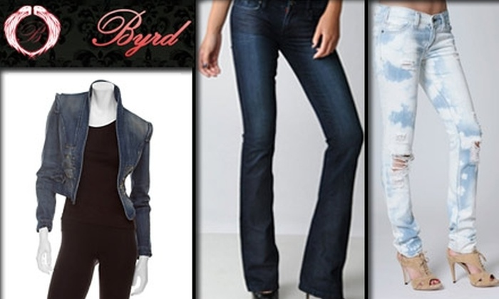 Byrd - Clayton: $50 for $150 Worth of Designer Clothing at Byrd Style Lounge