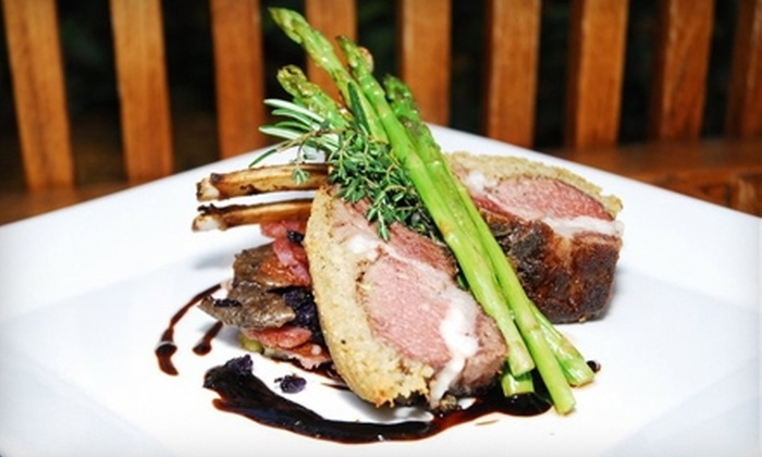 Sawa Restaurant & Lounge - Industrial Section: $15 for $30 Worth of Mediterranean and Japanese Cuisine and Drinks at Sawa Restaurant & Lounge