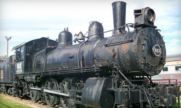 RailsWest Railroad Museum - Council Bluffs: Two or Four Admissions to RailsWest Railroad Museum in Council Bluffs