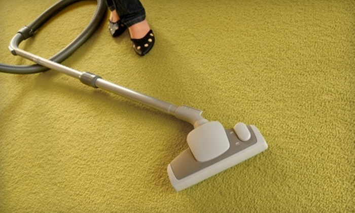 On the Spot Carpet Cleaning - Downtown: $55 for Carpet Cleaning for Two Rooms and One Hallway from On the Spot Carpet Cleaning ($110 Value)