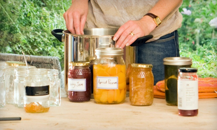 Garden Inspirations - Twin Lakes Estates: $20 for a Holiday Jams Canning and Preservation Class at Garden Inspirations in Waxahachie ($45 Value)