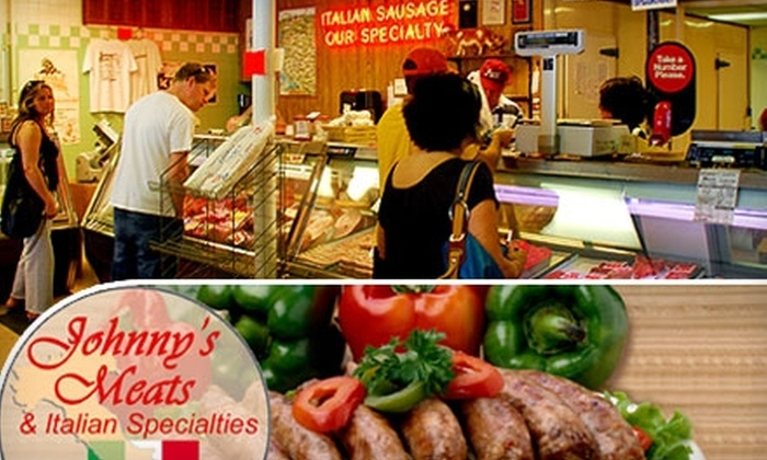 Johnny's Meats - North Park: $10 for $20 Worth of Italian Specialties at Johnny's Meats