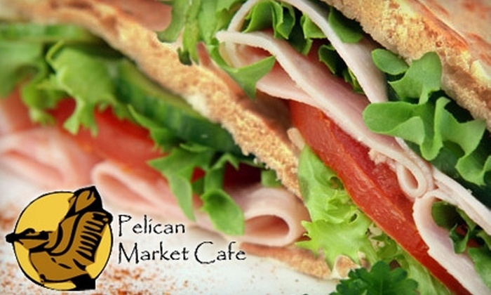 Pelican Market Cafe - 1: $7 for $15 Worth of Food and Drink at Pelican Market Cafe in Covington