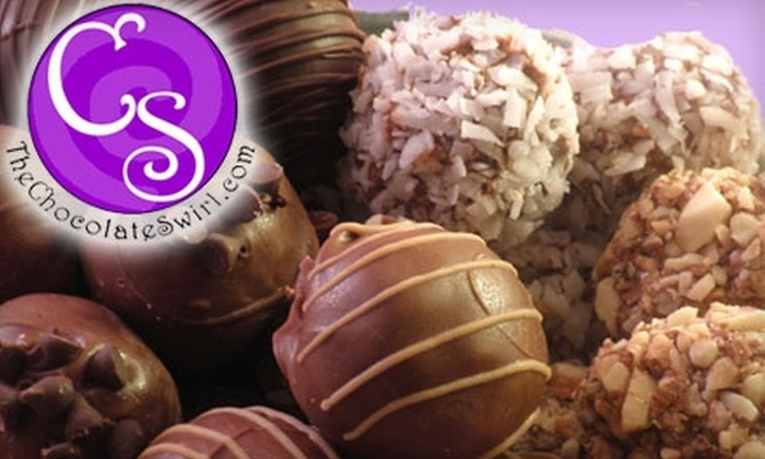 The Chocolate Swirl: $15 for $30 Worth of Treats from The Chocolate Swirl