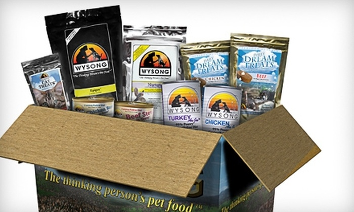 Wysong Natural Pet Foods & Supplements: $20 for a Canine or Feline Nutritional Starter Kit Plus Shipping from Wysong Natural Pet Foods & Supplements (Up to $41.03 Value)