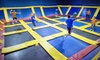 Up to 53% Off Trampolining Session in Niles