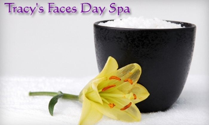Tracy's Faces Day Spa - Georgetown: $25 for $50 Toward Body Sugaring Services or $69 for Three Aloe Detoxing Body Wraps ($207 Value) at Tracy's Faces Day Spa