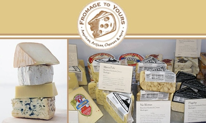 Fromage to Yours  - Centennial: $10 for $20 Worth of Gourmet Cheese at Fromage to Yours