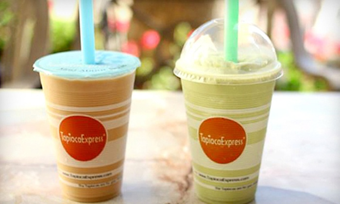 Tapioca Express - San Felipe: $12 for Bubble Tea and Asian Fare over Five Visits at Tapioca Express in Gilroy ($25 Value)