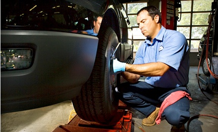 Oil and Filter Change, Wiper Replacement, Tire Rotation, Brake Inspection, and Vehicle Inspection  - All Tune and Lube in Madison