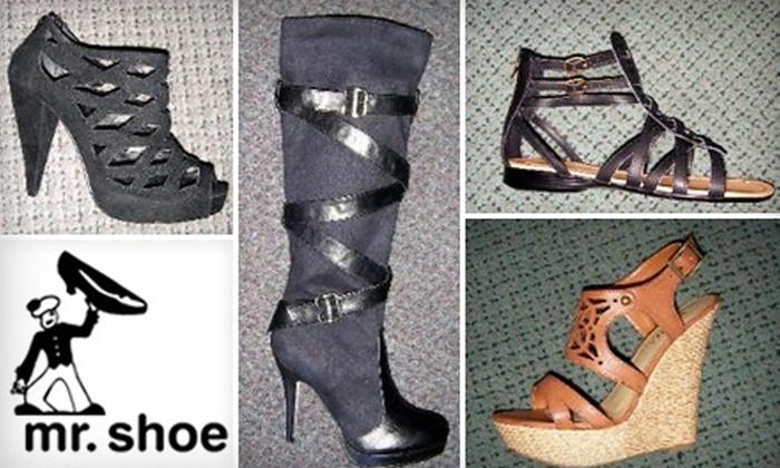 Mr. Shoe - Lower East Side: $19 for $40 Worth of Men's and Women's Footwear at Mr. Shoe