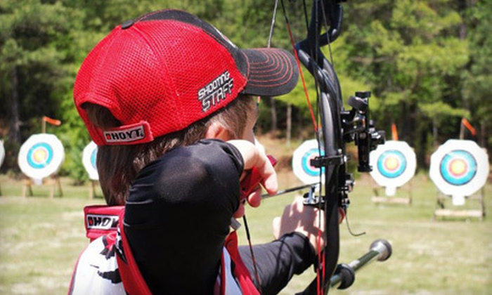 Archery Learning Center - Williams Place: One or Three Group Lessons for Two or Five All-Day Range Passes at Archery Learning Center in Snellville (Up to 59% Off)
