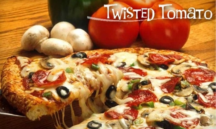 Twisted Tomato - Clover Hill: $7 for $15 Worth of Pizza, Grinders, and More from Twisted Tomato in Midlothian