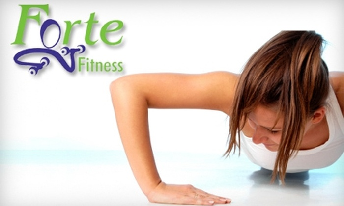 Forte Fitness - Winter Park: $40 for One Month of Unlimited Boot Camp from Forte Fitness in Winter Park