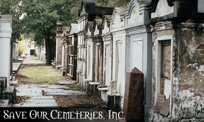 Save Our Cemeteries - Multiple Locations: Cemetery Tours from Save Our Cemeteries. Two Options Available.