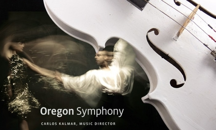 Oregon Symphony - Multiple Locations: $20 for One Ticket to the Oregon Symphony (Up to $58 Value)