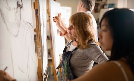 2-Hour BYOB Introductory Art Class for 2 (a $100 value) - Anthony J. Padgett Gallery in Carmel