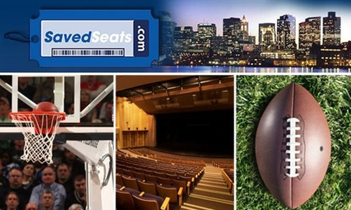 SavedSeats LLC - Omaha: $25 for $50 Toward Any SavedSeats.com Ticket Purchase Plus 10% Off Future Purchases