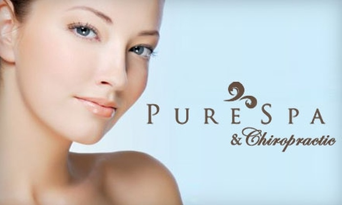 Pure Spa & Chiropractic - Tierrasanta: $35 for a 50-Minute Facial at Pure Spa & Chiropractic