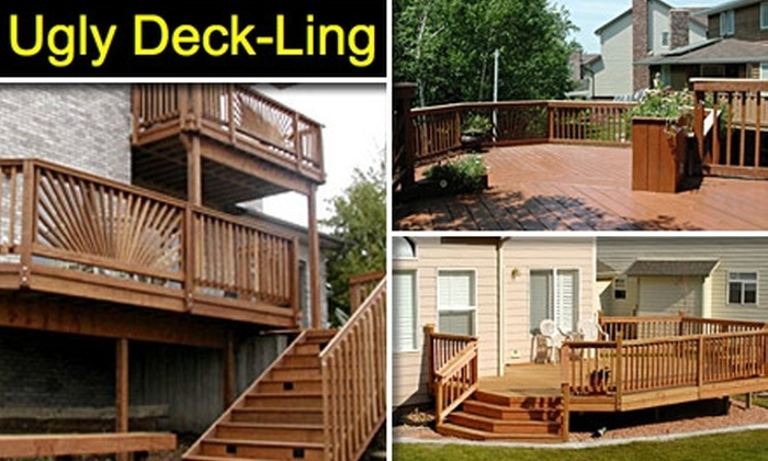 Ugly-Deckling - Nashville: $100 for a Complete Patio-Deck Restoration from Ugly Deck-Ling (Up to $763 Value)